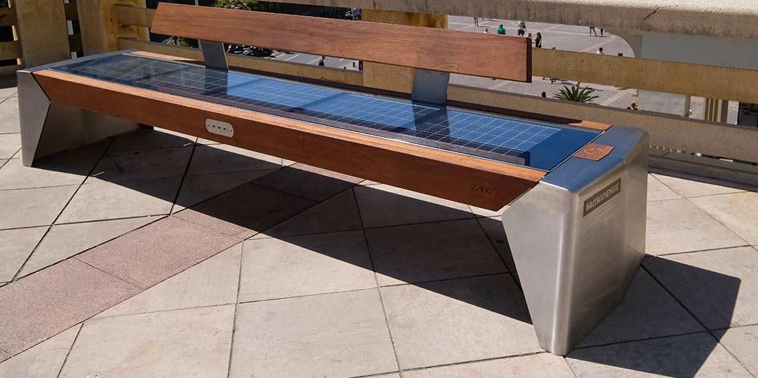 'Photon' Solar Bench Seat -
