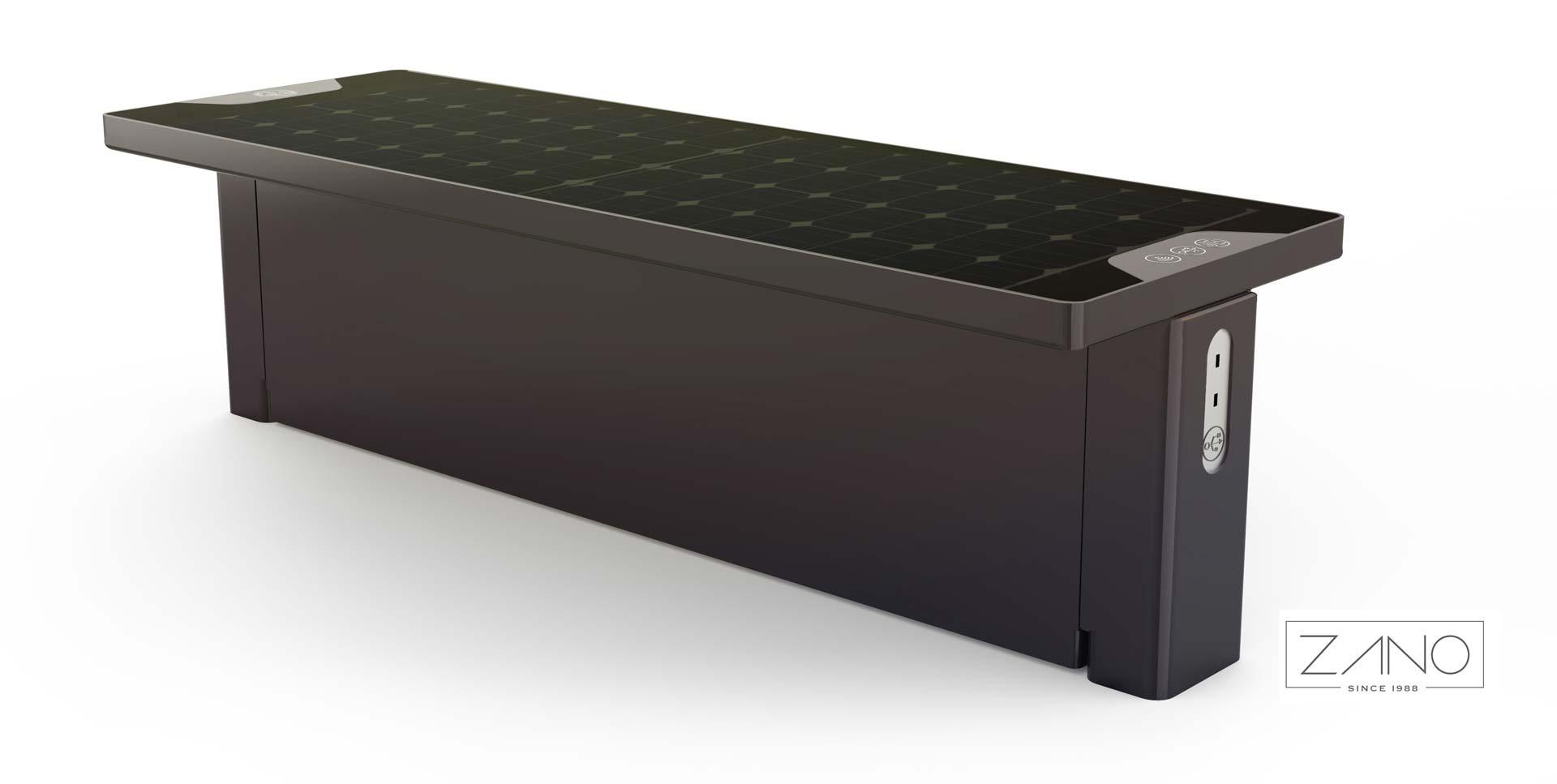 'Scandik' Solar Bench -